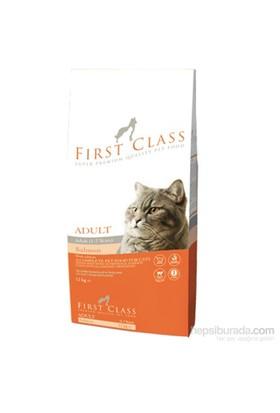 First Class Adult Somonlu Kedi Maması 12 Kg