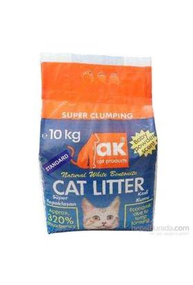 Akkum Kalın Taneli Kedi Kumu 10 kg