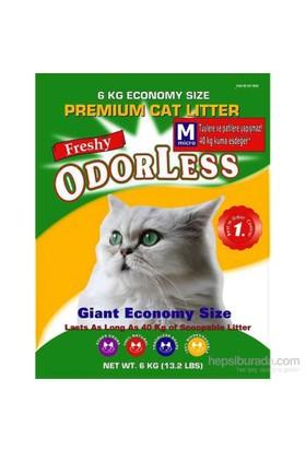 Odorless Micro Kristal Kedi Kumu 6 Kg