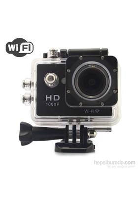"""Angel Eye KS-504 1080P Full HD 1.5""""LCD Ekranlı Waterproof Wifi Aksiyon Kamera"""