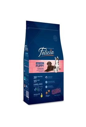 Felicia 3 Kg Kuzulu Büyük Irk Yavru Köpek Maması