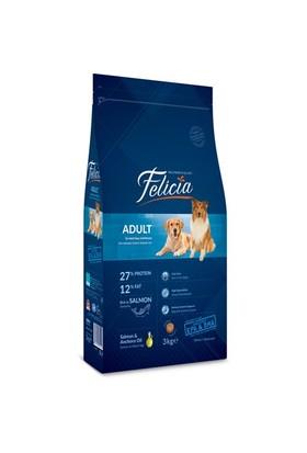 Felicia 3 Kg Somonlu Yetişkin Köpek Maması