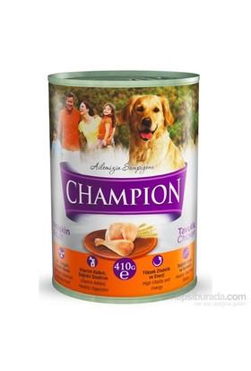 Champion Kümes Hayvanlı Yaş Köpek Konserve Maması 410 gr FD*