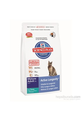 Hill's Science Plan Ton Balıklı Yaşlı Kedi Maması 2 Kg (Mature Adult 7 + Active Longevity with Tuna)