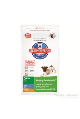 Hill's Science Plan Tavuklu Küçük Irk Yavru Köpek Maması 3 Kg (Puppy Healthy Development Mini with Chicken)