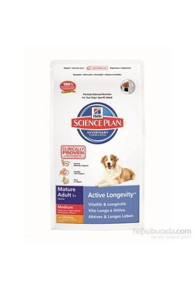 Hill's Science Plan Tavuklu Orta Irk Yaşlı Köpek Maması 12 Kg (Mature Adult 7 + Active Longevity Medium with Chicken)