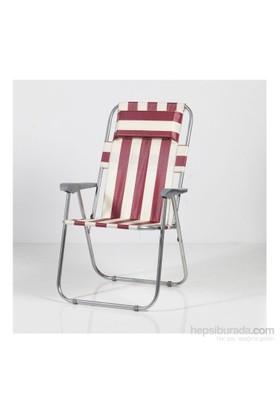 Muhtelif Vural Katlanır Yastıklı Kamp Piknik Sandalyesi -Snm16