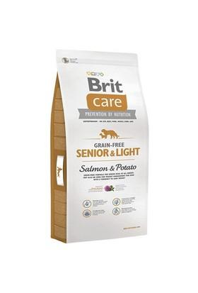 Brit Care Senior-Light Tahılsız Somonlu İleri Yaş İçin Diyet Köpek Maması 3 Kg