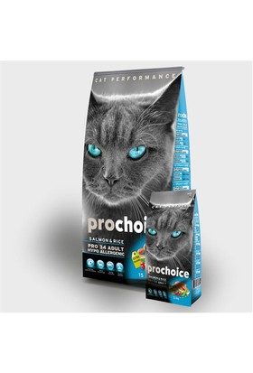 Prochoice Pro 34 Somon Ve Pirinçli Kedi Kuru Mama 15 Kg