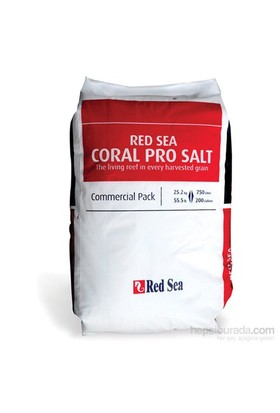 Red Sea Coral Pro Deniz Tuzu 25 Kg 750 Lt