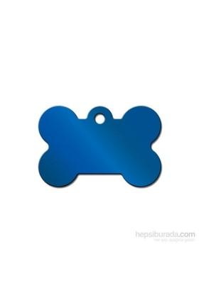Quick Tag Köpek İsimlik, Kemik, Mavi, Büyük