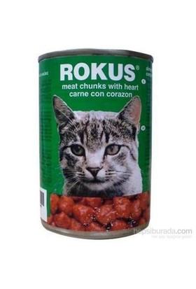 12 x 410 gr. Rokus Adult Cat Yürekli Kedi Konserve Mama