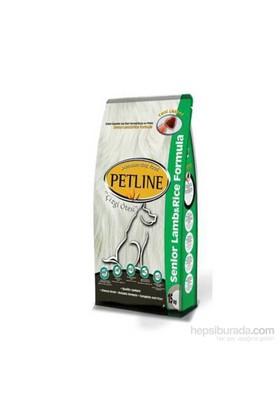Petline Premium Yaşlı Köpekler Için Kuzu Etli Ve Pirinçli Köpek Maması 15 Kg