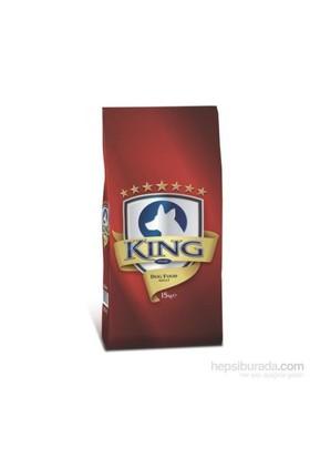 King Renkli Taneli Karışık Köpek Maması 15 Kg