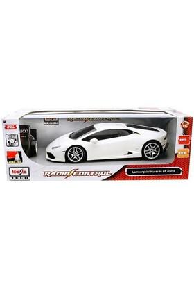 Maisto Lamborghini Huracan Lp 610-4 U/K 1:14 Maisto Tech Beyaz