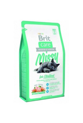 Brit Care Cat Missy Sterılısed Tavuklu Ve Pirinçli Kısırlaştırılmış Kedi Maması 7 Kg