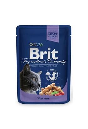 Brıt Premium Morina Balıklı Pouch Kedi Maması 100 Gr