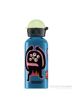 Sigg Glo Monster Blue 0.4 L Matara