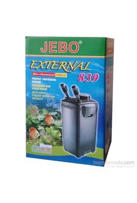 Jebo Filtre Siyah Kova İçi Dolu 1500 L/H
