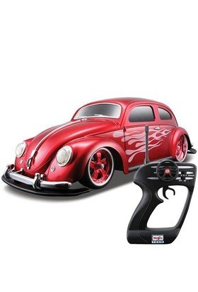 Maisto Tech 1:10 Beetle 1951G-Ridez U/K Araba Kırmızı
