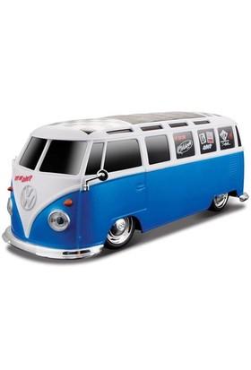 Maisto Tech Volkswagen Van Samba 1:24 U/K Mavi