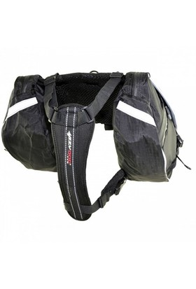 Ezydog Summıt Bag İkili Köpek Sırt Çantası Small Siyah