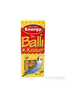 Energy Ballı Muhabbet Kuşu Krakeri - 100 g