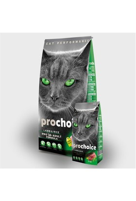 Prochoice Pro 36 Kuzu Etli Yetişkin Kedi Maması 15 Kg