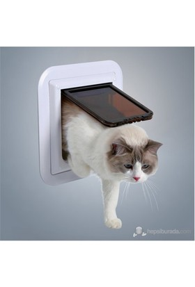 Trixie köpek&kedi kapısı Özellikle cam için 17,6x18,5cm