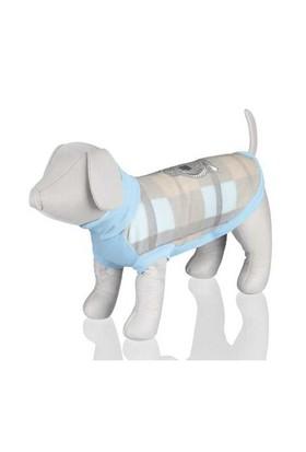 Trixie Köpek Kazağı S:33Cm Açık Mavi/Bej