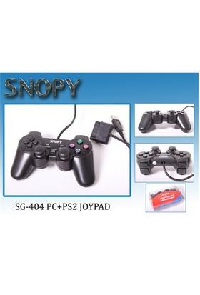 Snopy SG-404 USB/PS2 Çift Titreşimli Gamepad