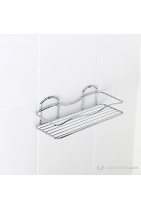 Tekno-Tel BK011 Tek Katlı Banyo Rafı