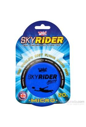 Wksrm-Mv Wicked Sky Rider Micro Frizbi Mavi