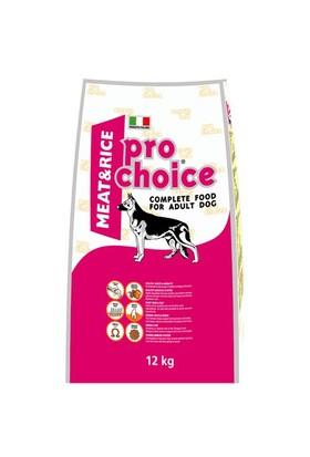 Prochoice Yetişkin Etli Ve Pirinçli Köpek Maması 12 Kg