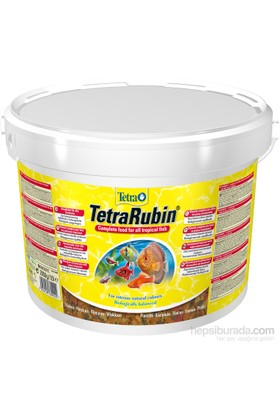 Tetra Rubin Flakes Balık Yemi 10 Lt
