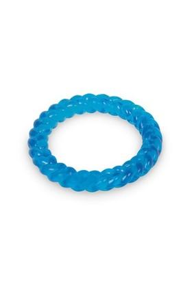 Nobby Thermoplastik Kaucuk Halka Köpek Oyuncağı 14,5 Cm (Mavi)