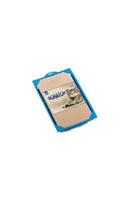 Georplast '' Joe'' Plastik Kabı Ve Karton Tırmalama Alanı 37 X 27 X 3,5 Cm