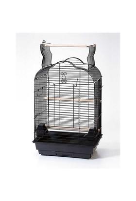 Qh Pet Cage Papağan Kafesi Beyaz (46.5 X 36 X 70)