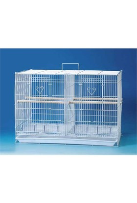 Qh Pet Cage Qh Çifthane Üretim Kafesi Karışık Renkli (61 X 40 X 42)