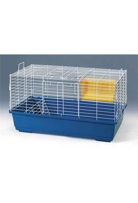 Qh Pet Cage Tavşan Kafesi Gümüş (4)