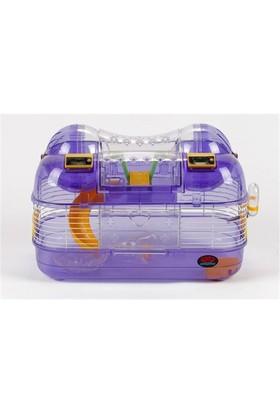 Sayaçlı Hamster Kafesi 43*27*28