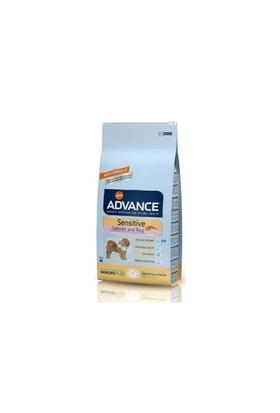 Advance Sensitive Somonlu Pirinçli Yetişkin Köpek Maması 12 Kg