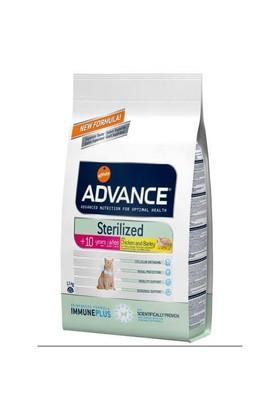 Advance Kısırlaştırılmış Tavuklu Ve Hindili Yaşlı Kedi Maması 1,5 Kg
