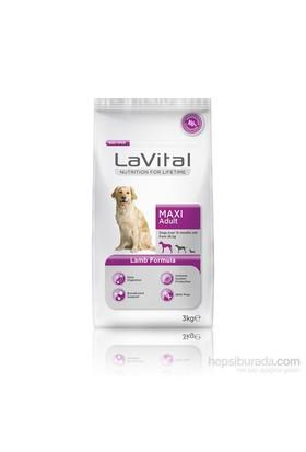 La Vital Dog Maxi Adult Lamb Büyük Irk Kuzu Etli Yetişkin Köpek Maması 3 Kg