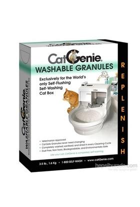 CatGenie Yıkanabilir Otomatik Tuvalet için Granül