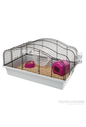 Ferplast Oriente 10 Siyah Hamster Kafesi