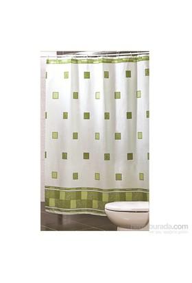 Doğuş Banyo Polyester Banyo Perdesi Tekli-Diamond