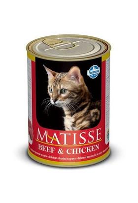 Matisse Cat Biftek Ve Tavukl Parça Etli Kedi Konserve 405 Gr