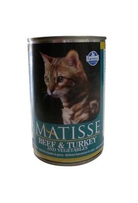 Matisse Cat Biftek, Hindi Parça Etli Ve Sebzeli Kedi Konserve 405 Gr