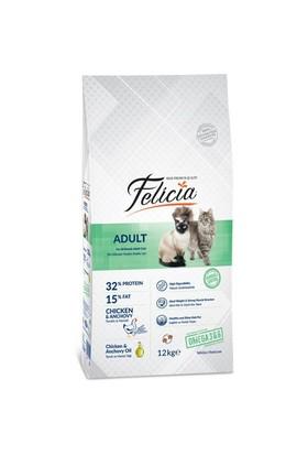 Felicia Tavuklu-Hamsili Yetişkin Kedi Maması 12 Kg